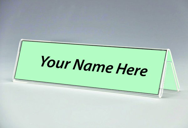 table tent name tags