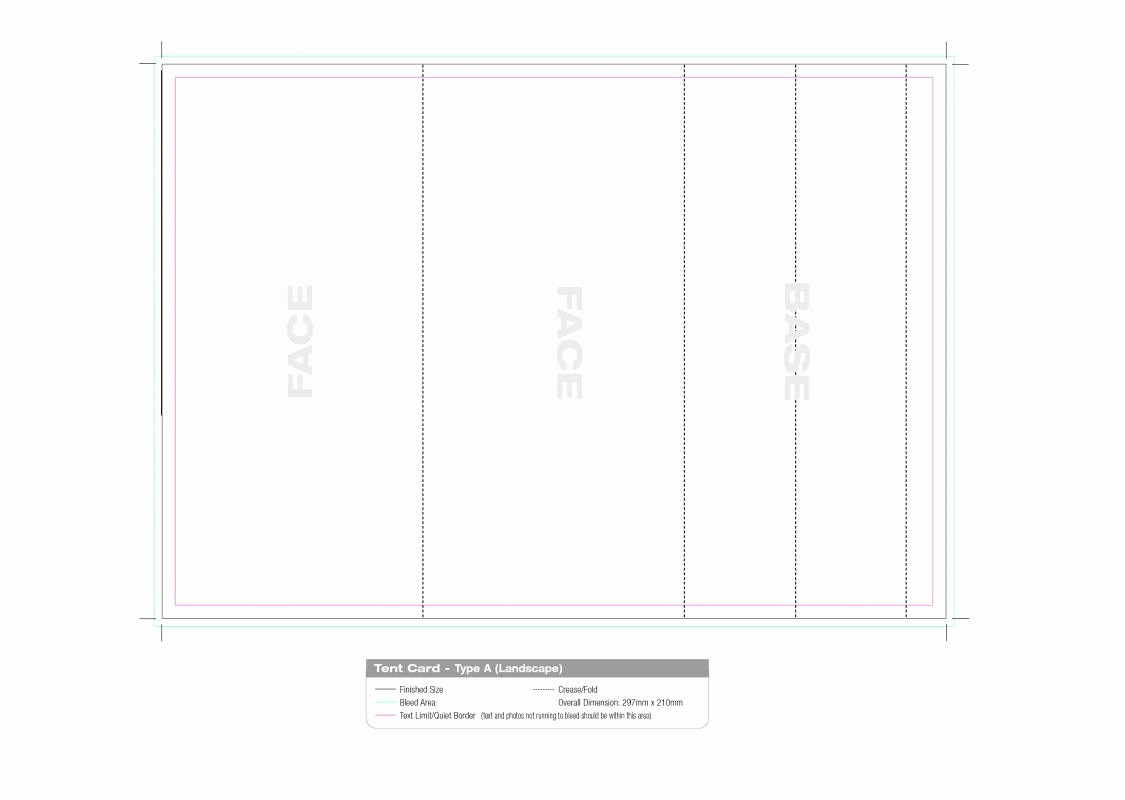 Name Tag Table Tent Template New Avery Table Tent Template
