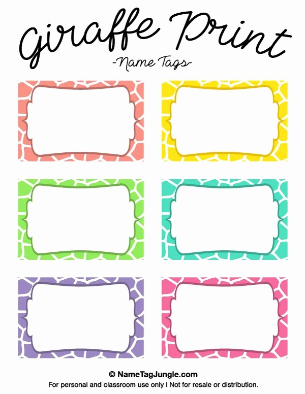 Name Tag with Photo Template Awesome 25 Best Ideas About Printable Name Tags On Pinterest
