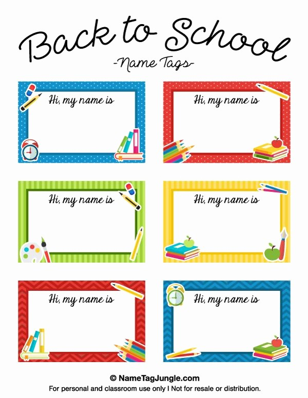 Name Tag with Photo Template Lovely 7 Best Images About Name Tags On Pinterest