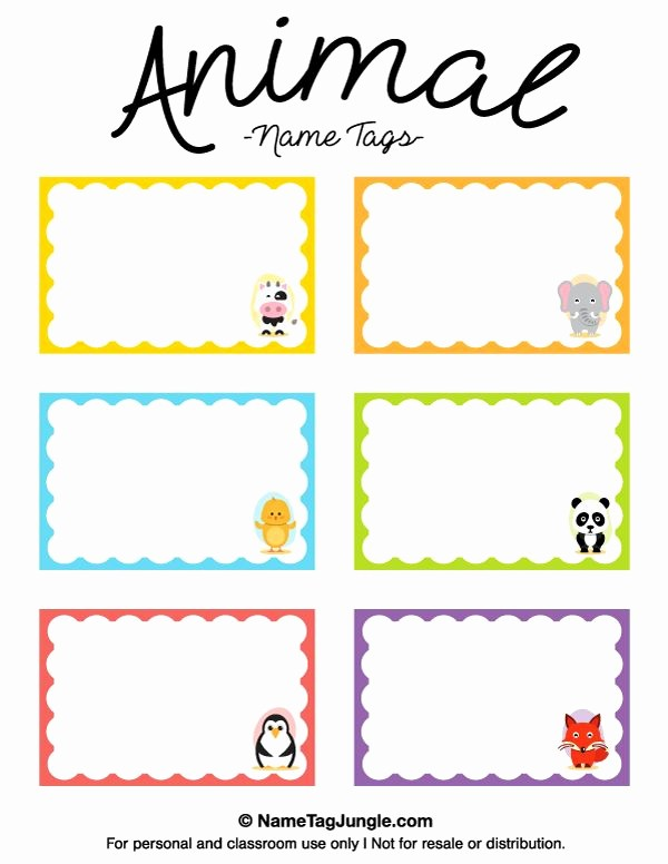 Name Tag with Photo Template Luxury Pin by Muse Printables On Name Tags at Nametagjungle