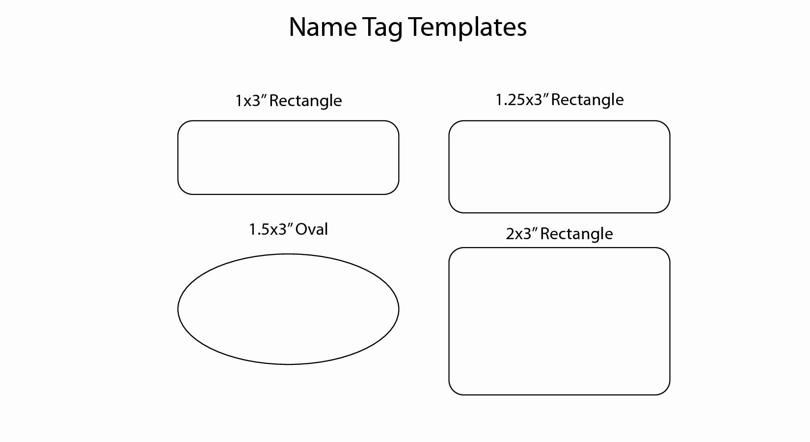 Name Tag with Photo Template New 14 Name Badge Templates Christmas Name Badge