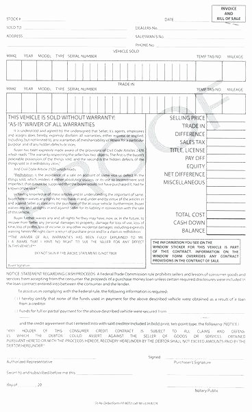Nc Auto Bill Of Sale Elegant Auto Bill Sale Template Nc form Proposal – Btcromaniafo