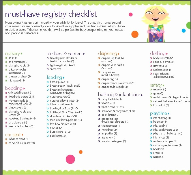 New Born Baby Check List Unique What You Need for Your New Baby the Ultimate Baby Checklist