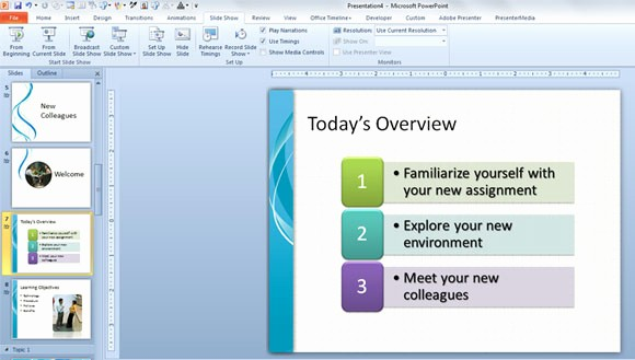 New Employee orientation Powerpoint Presentation Elegant Training New Employees Powerpoint Template