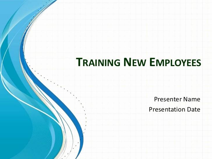 New Employee orientation Powerpoint Presentation Luxury Training New Employees