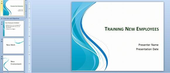 New Employee orientation Powerpoint Presentation New Training New Employees Powerpoint Template