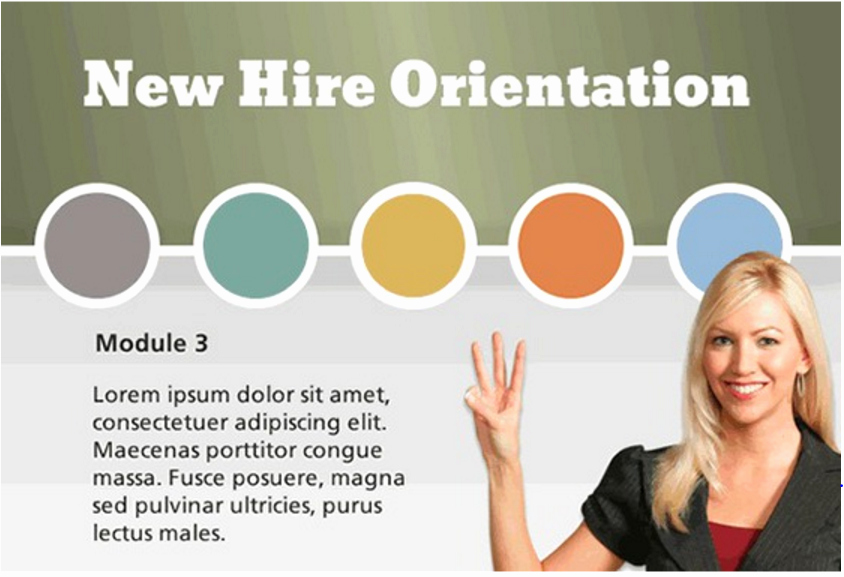 New Hire orientation Powerpoint Presentation Beautiful Freebie Gamified New Hire orientation Template