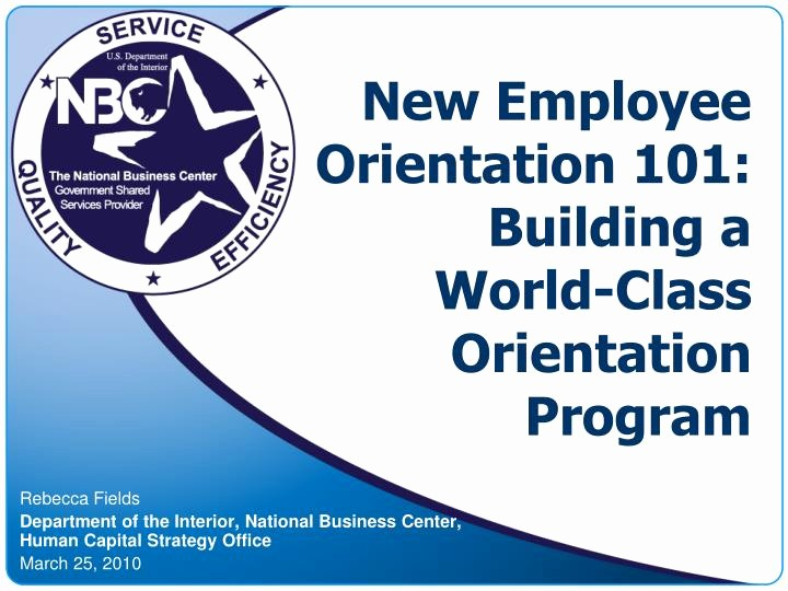 New Hire orientation Powerpoint Presentation Beautiful Ppt New Employee orientation 101 Building A World Class