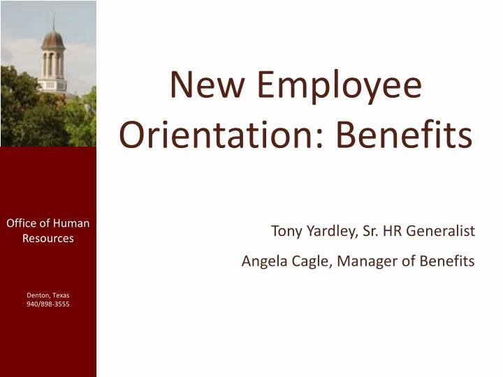 New Hire orientation Powerpoint Presentation Beautiful Ppt New Employee orientation Benefits Powerpoint