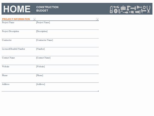 New Home Construction Budget Worksheet Elegant Bud S Fice
