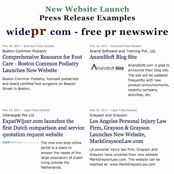New Product Press Release Sample Beautiful Heidi Mueller