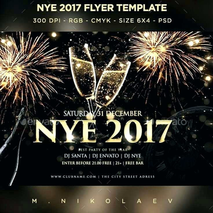 New Years Eve Menu Template Awesome New Year Years Eve Menu Template Word Templates Free