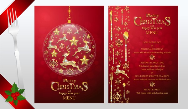 New Years Eve Menu Template Beautiful New Years Eve Menu Template Template Design Ideas
