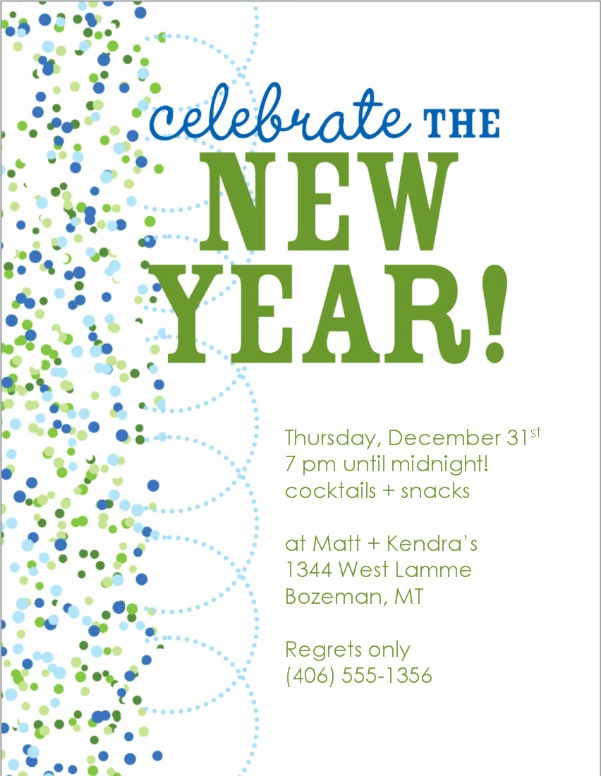 New Years Eve Menu Template Inspirational New Year Eve Invitation Templates Free