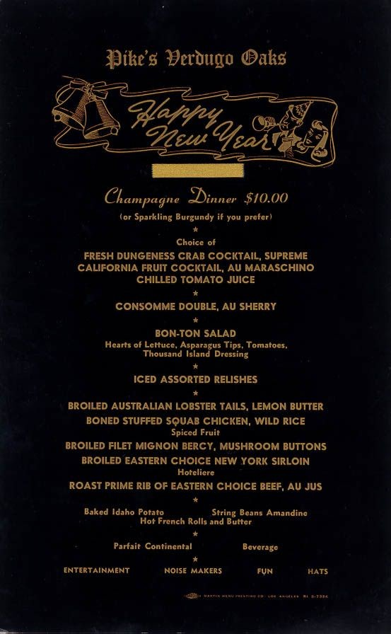 New Years Eve Menu Template Inspirational New Year S Eve Menu