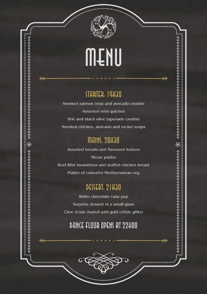 New Years Eve Menu Template New New Year S Eve Party Details 2015 Collisheen Collisheen