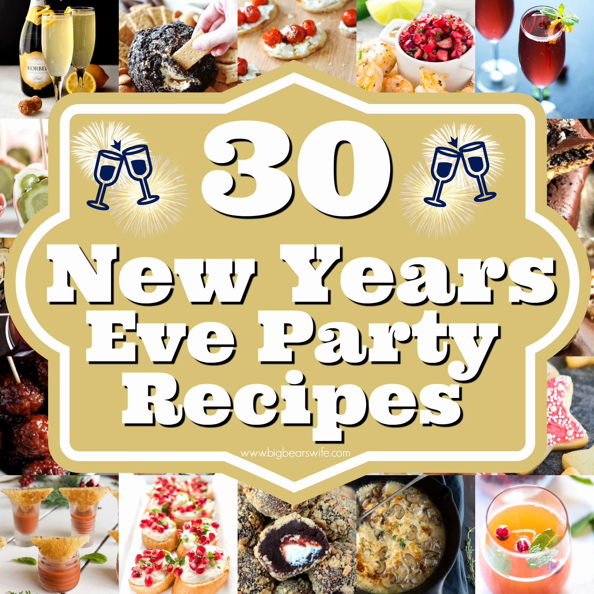 New Years Eve Party Checklist Best Of 30 New Years Eve Party Recipes Savory Ideas Sweets and