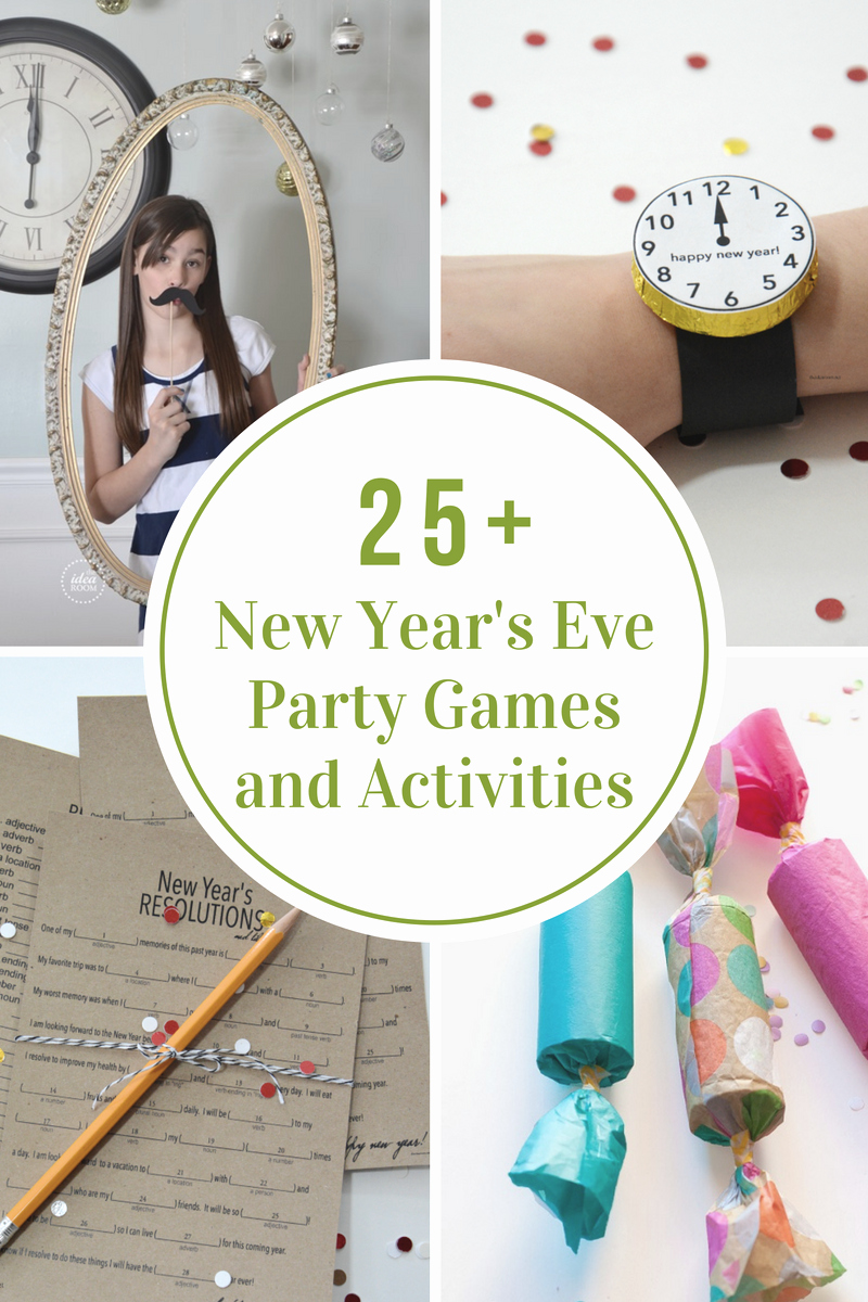 New Years Eve Party Checklist Fresh New Year S Eve Party Games and Activities the Idea Room