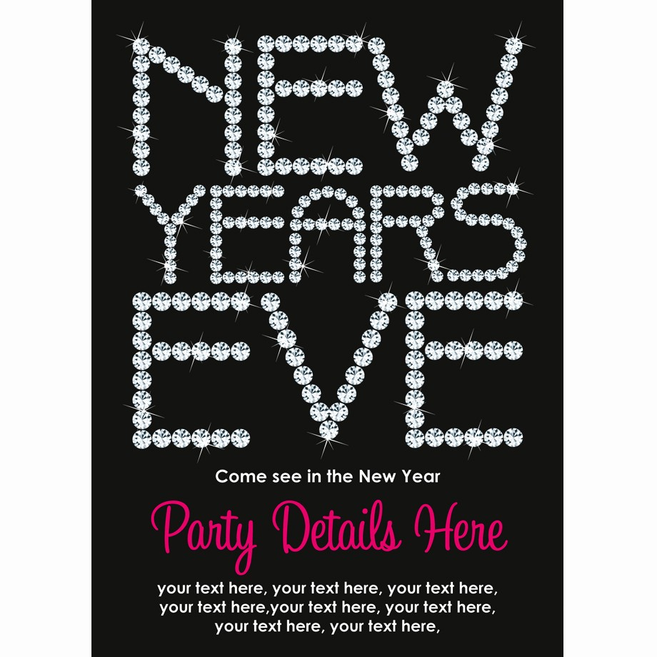 New Years Eve Party Checklist Fresh New Years Eve Party Invitations