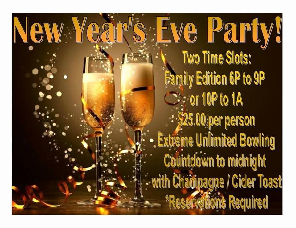 New Years Eve Party Checklist Inspirational New Year S Eve Bowling Party Visit Oceanside