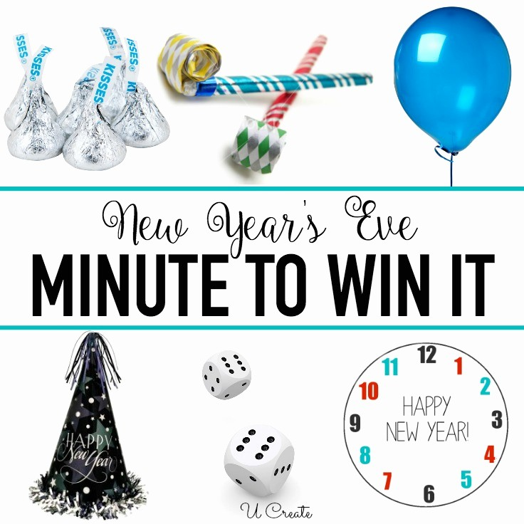 New Years Eve Party Checklist Lovely New Year S Eve Minute to Win It Games U Create