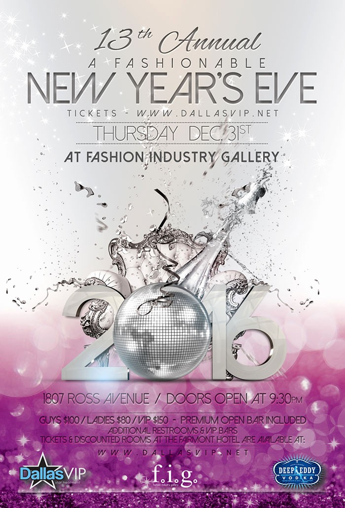 New Years Eve Party Checklist Unique Dallas 2016 New Years Eve Party & events