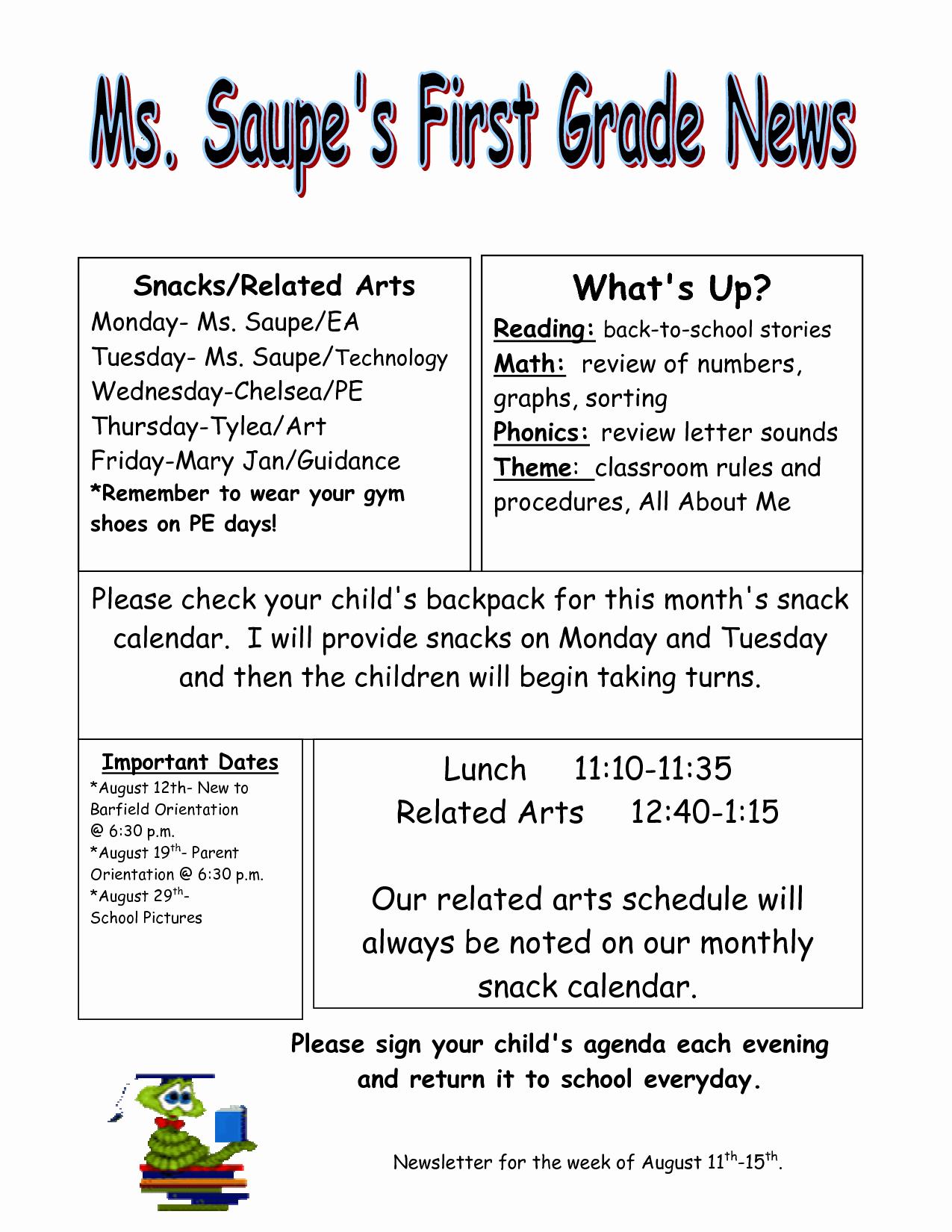 News Letter Templates for Teachers Elegant Download Newsletter Templates for Teachers