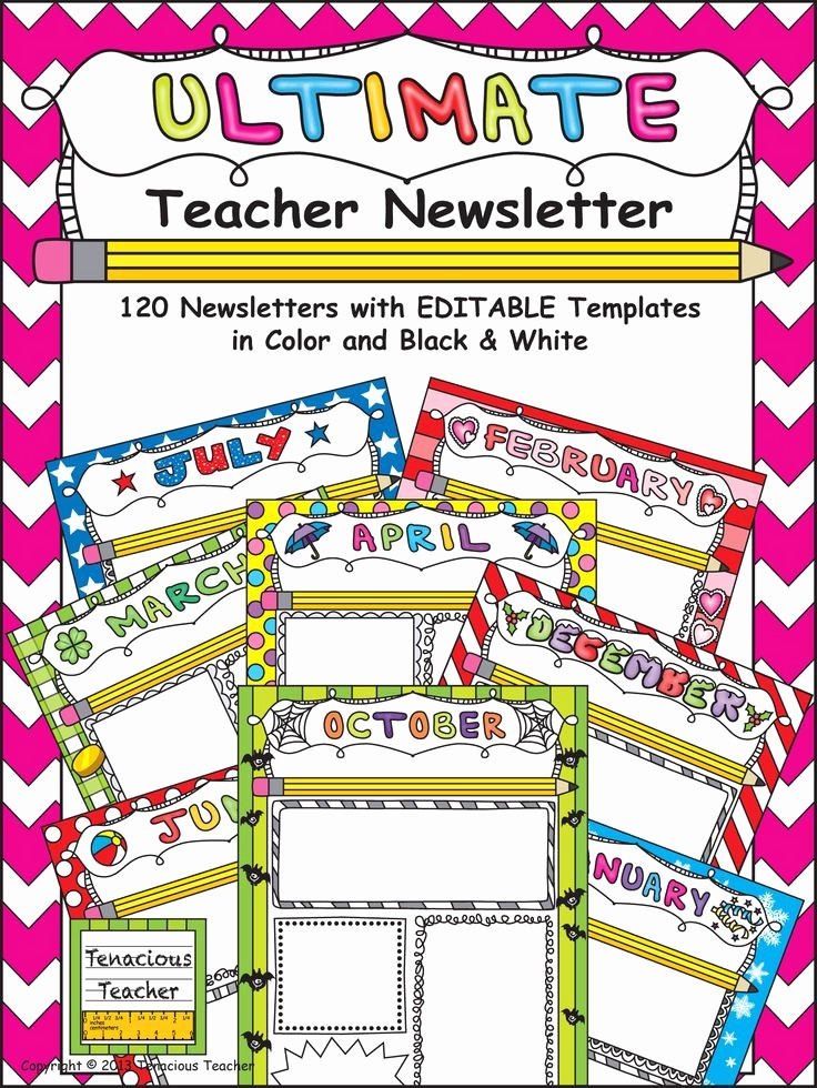 News Letter Templates for Teachers Fresh Best 20 Teacher Newsletter Templates Ideas On Pinterest