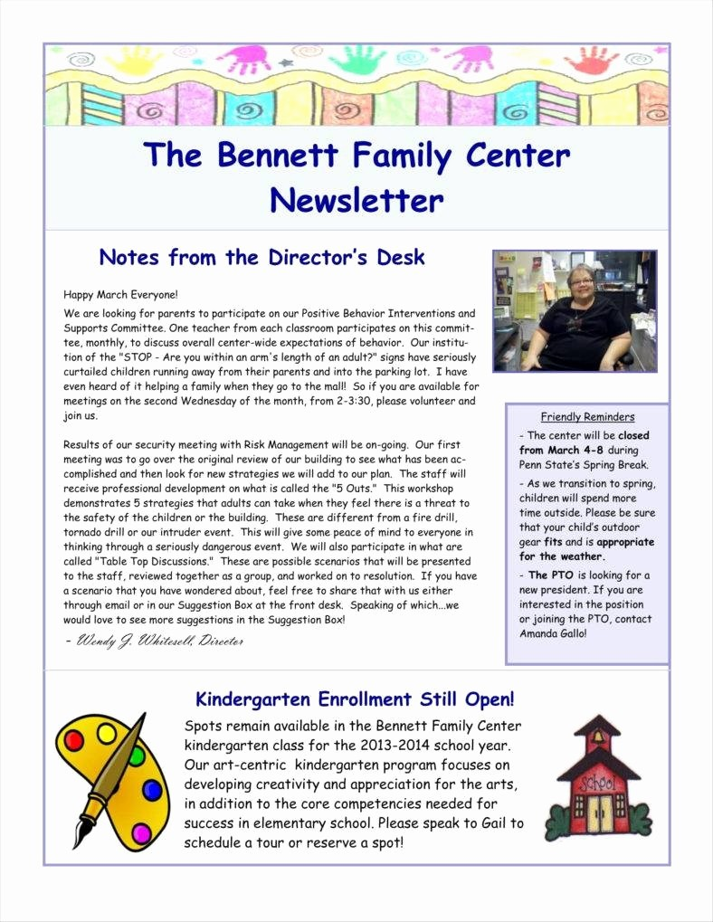 News Letter Templates In Word Best Of 9 E Page Newsletter Templates Free Pdf Doc format