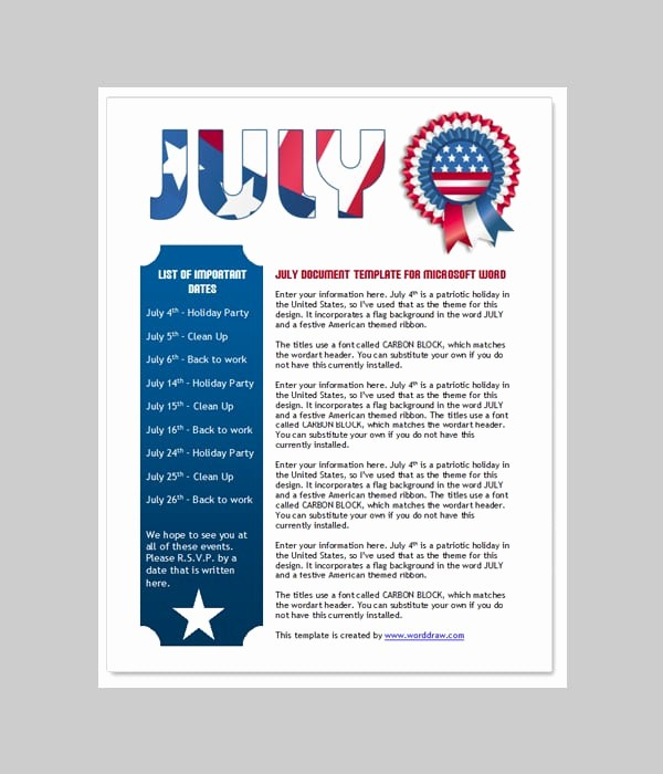 News Letter Templates In Word Inspirational 6 Free Newsletter Word Templates Excel Pdf formats