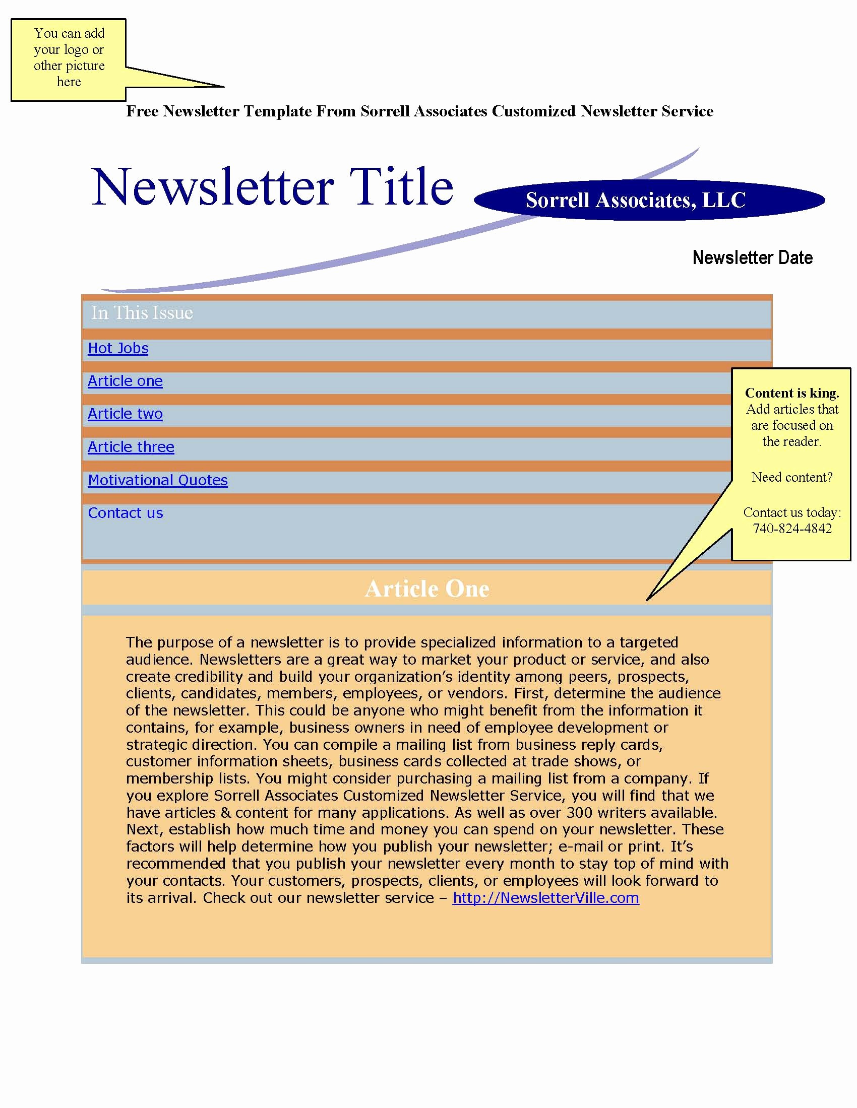 News Letter Templates In Word Lovely Newsletter Templates Free Word Bamboodownunder