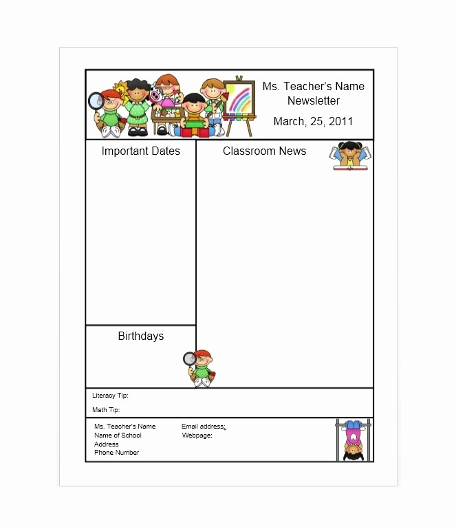 Newsletter Design Templates Free Download Awesome 50 Free Newsletter Templates for Work School and