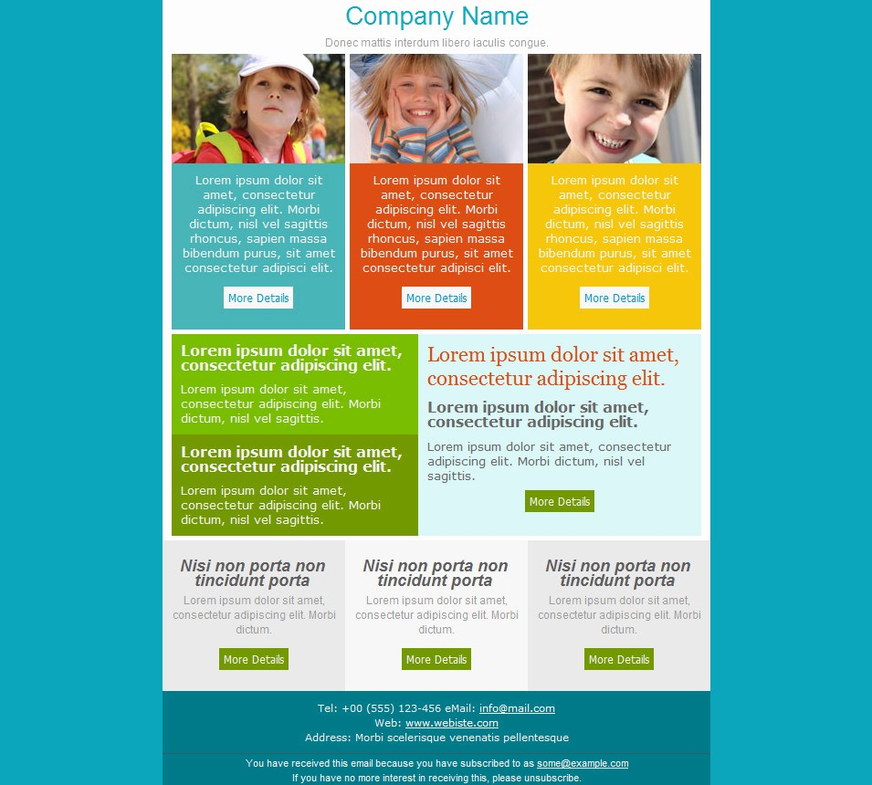 Newsletter Design Templates Free Download Elegant 33 Best Email Template Designs for Download Purchase