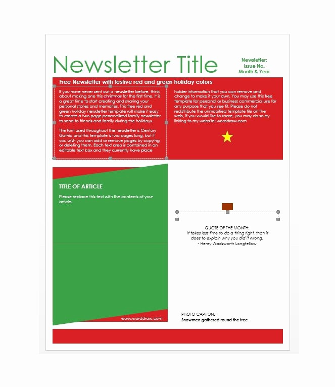 Newsletter Design Templates Free Download Elegant 50 Free Newsletter Templates for Work School and