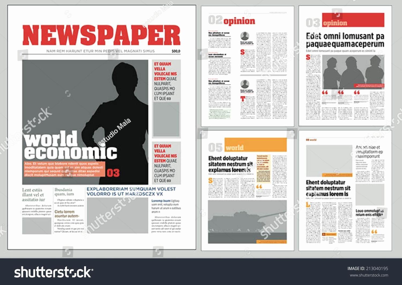Newsletter Design Templates Free Download Fresh Microsoft Publisher Newsletter Templates Free Download