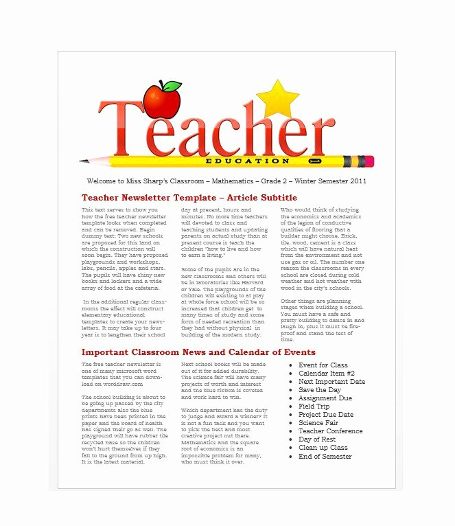Newsletter Design Templates Free Download Lovely 50 Free Newsletter Templates for Work School and