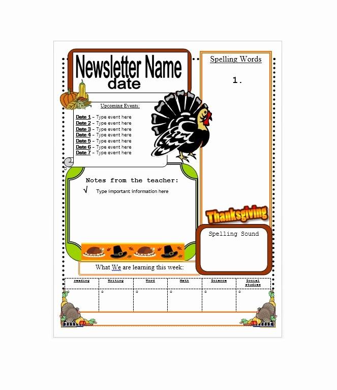 Newsletter Design Templates Free Download Lovely 50 Free Newsletter Templates for Work School and