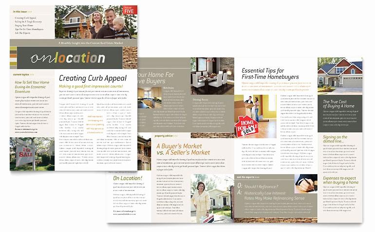Newsletter Design Templates Free Download Lovely Free Newsletter Template Word & Publisher Templates