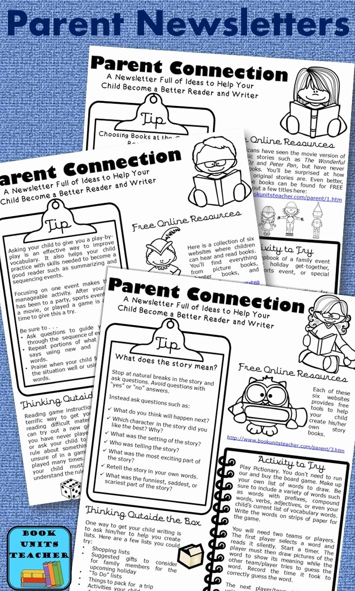 Newsletter for Parents From Teachers Fresh 254 Best Images About Parent Teacher Munication Ideas