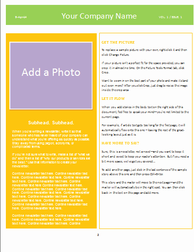 Newsletter Templates for Microsoft Word Awesome Newsletter Template Microsoft Word Templates
