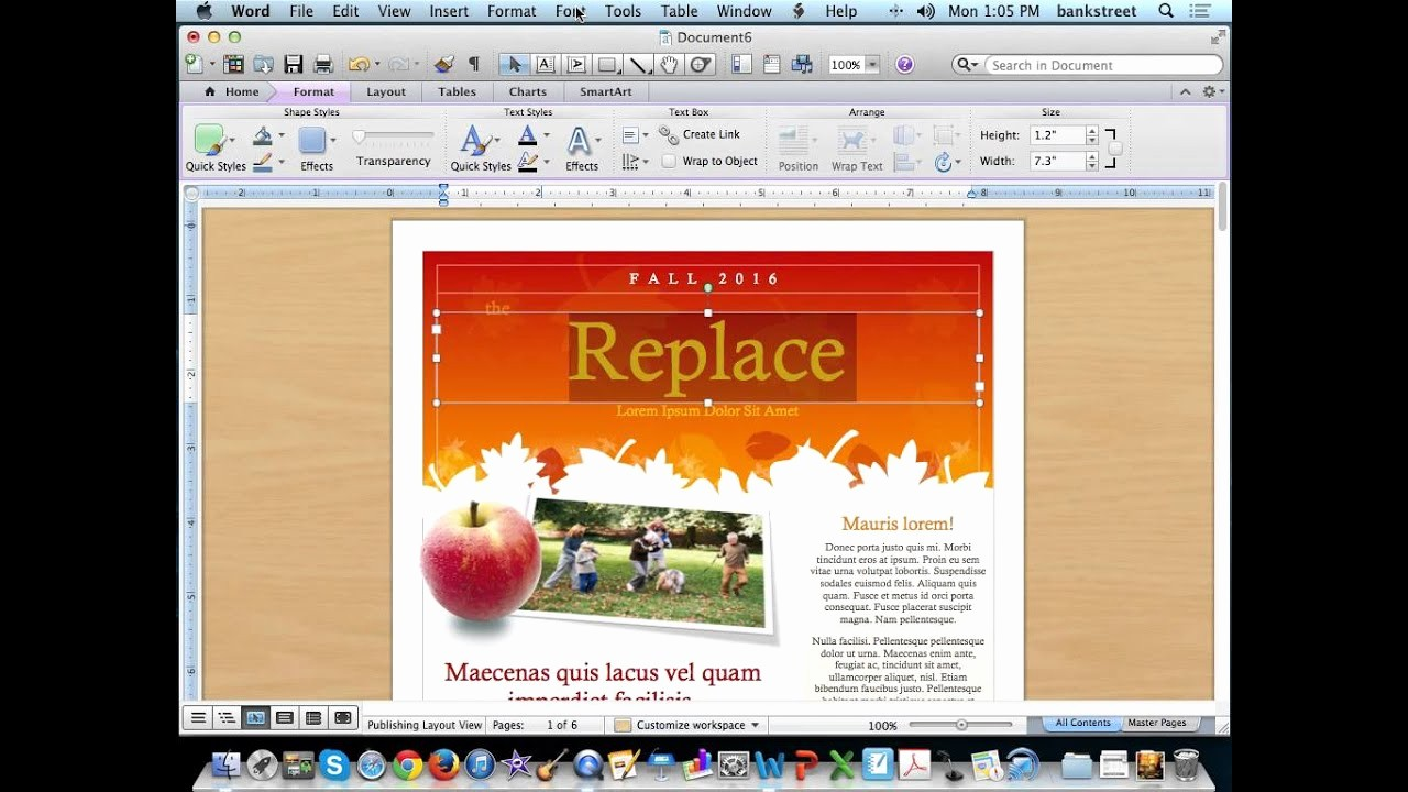 Newsletter Templates for Microsoft Word Best Of Create A Newsletter Using Microsoft Word Templates