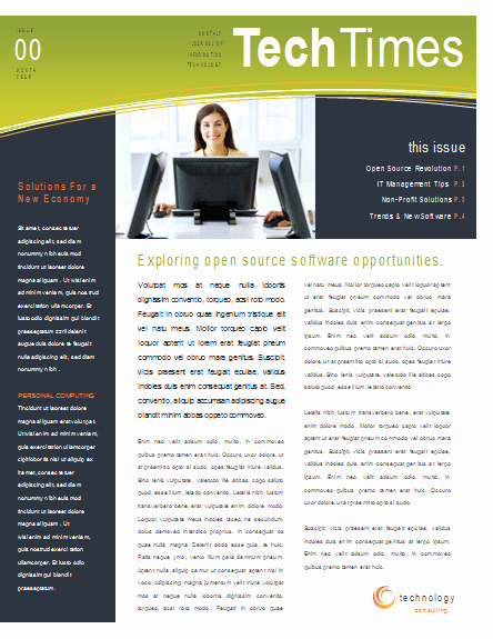 Newsletter Templates for Microsoft Word Elegant Newsletter Templates Word