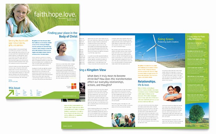 Newsletter Templates for Microsoft Word Inspirational Church Youth Ministry Newsletter Template Design