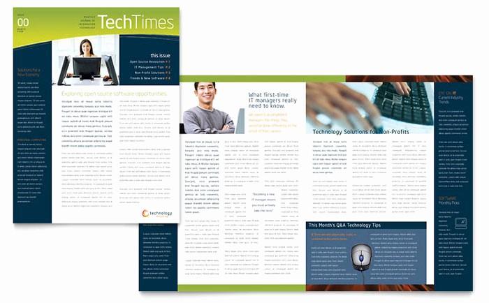 Newsletter Templates for Microsoft Word Lovely Free Newsletter Templates