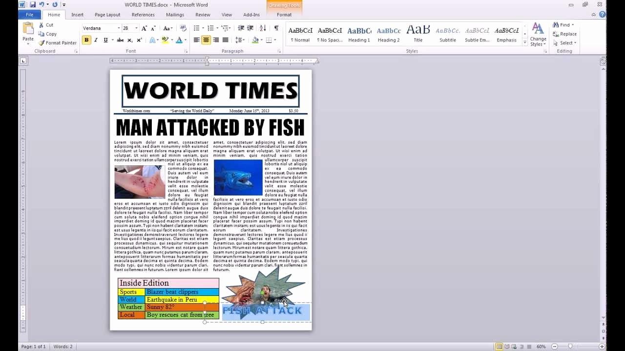 Newspaper Article Template Microsoft Word Lovely How to Make A Newspaper Article Template Microsoft Word