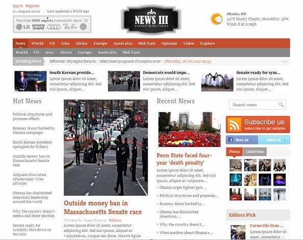 Newspaper Template for Word 2010 Awesome Best S Of Newspaper Setup Template Newspaper