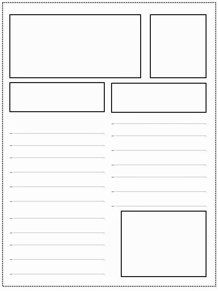 Newspaper Template for Word 2010 Inspirational 10 Best Of Blank Newspaper Article Blank