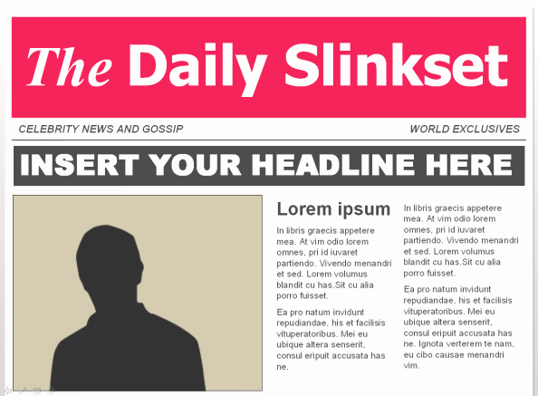 Newspaper Template for Word 2010 Luxury In the News Part 2