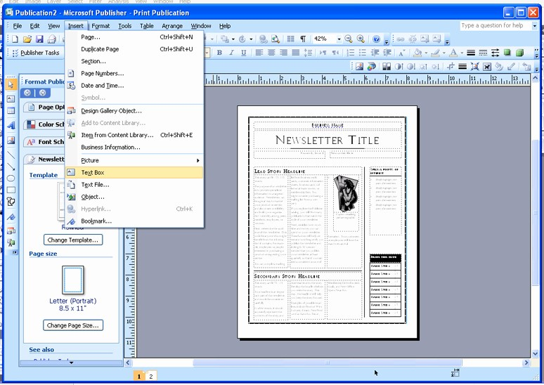 Newspaper Template for Word 2010 Luxury Ms Publisher Templates